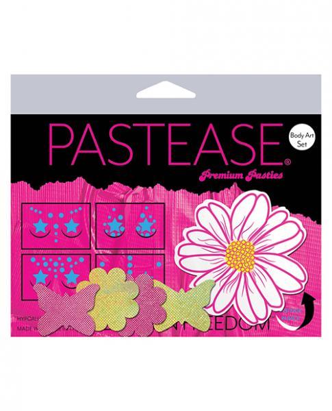 Pastease Body Art Set Wild Flower Multi Color O/S