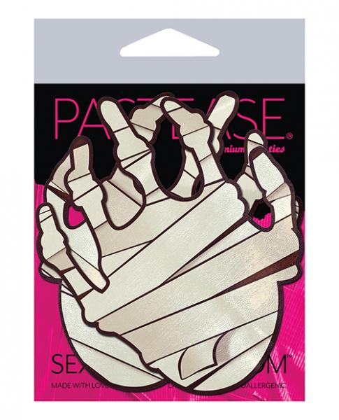 Pastease Mummy Hands - White O/s