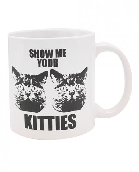Attitude Mug Show Me Your Kitties - 22 Oz