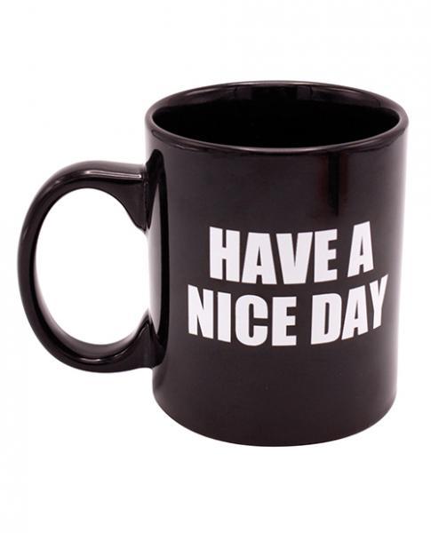 Attitude Mug Have A Nice Day Holds 16oz Black