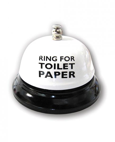 Ring For Toilet Paper Table Bell