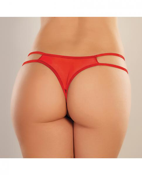Adore Sweet Honey Panty Red O/s