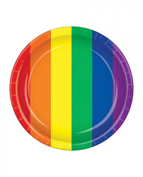 Pride Plates - Rainbow Pack Of 8