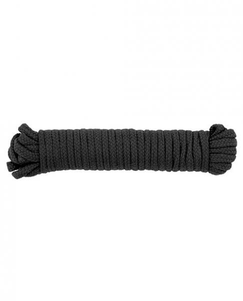 Spartacus Bondage Rope - 33ft Black