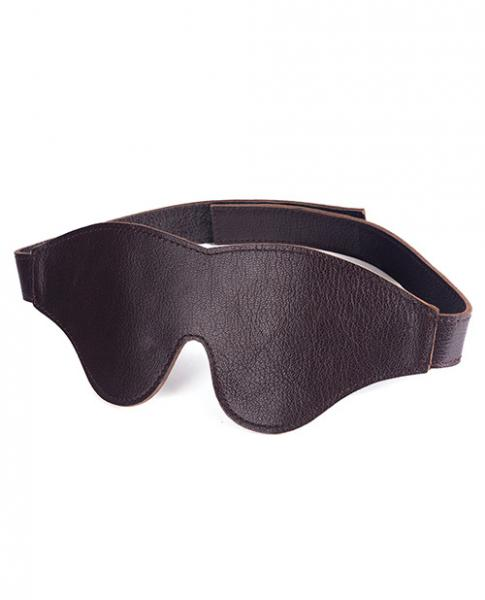 Spartacus Blindfold Classic Cut Brown Leather