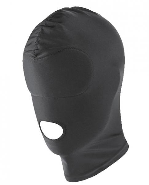 Spartacus Spandex Hood with Open Mouth Black O/S