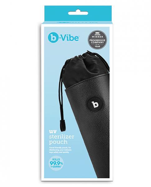 B-vibe Uv Sterilizer Pouch W/usb Cord - Black