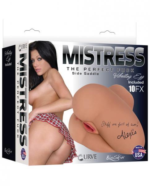 Mistress Vibrating Side Saddle Alexis Latte Tan