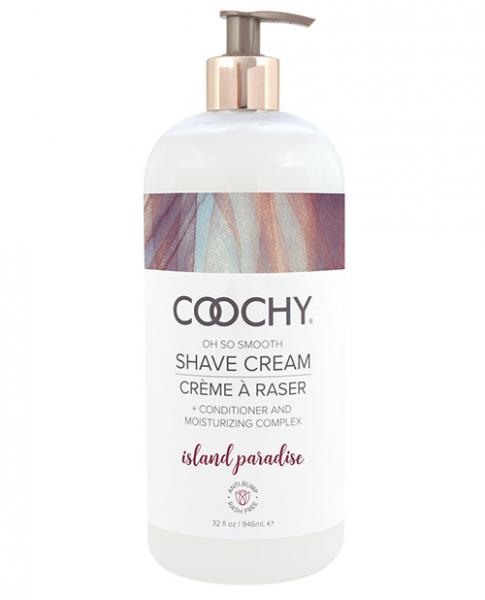 Coochy Shave Cream Island Paradise 32 oz