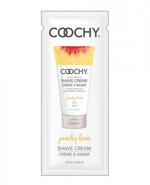 Coochy Shave Cream Peachy Keen .5 fluid ounce