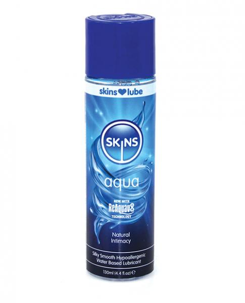 Skins Aqua Water Based Lubricant  4.4 fluid ounces