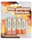 Doc Johnson Batteries - AA 4 Pack Sex Toy Product