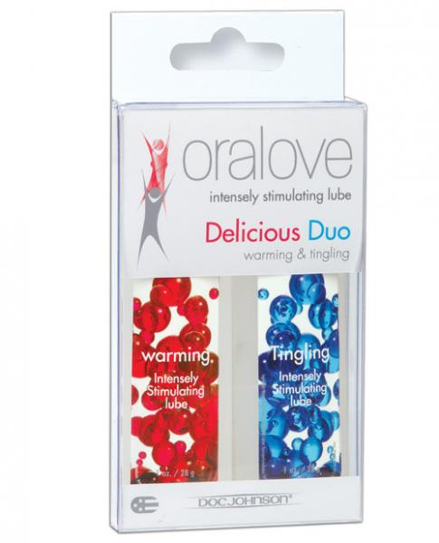 Oralove Delicious Duo Lickable Lubes Warming And Tingling