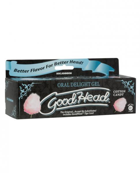 Goodhead Oral Gel Cotton Candy Tube 4 fluid ounces