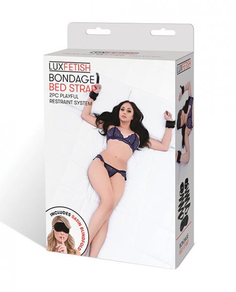 Lux Fetish Bondage Bed Strap Restraint System Set