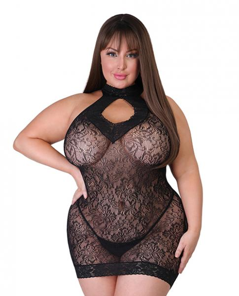Fifty Shades Of Grey Captivate Mini Dress - Black One Size Queen