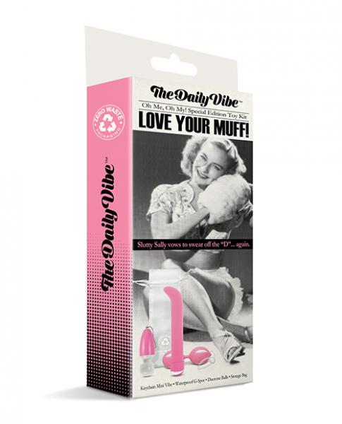 The Daily Vibe Love Your Muff Kit - Pink