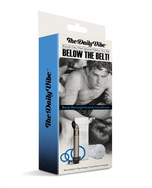 The Daily Vibe Below The Belt Kit - Black