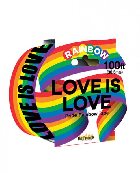 Love Is Love Rainbow Style Caution Party Tape
