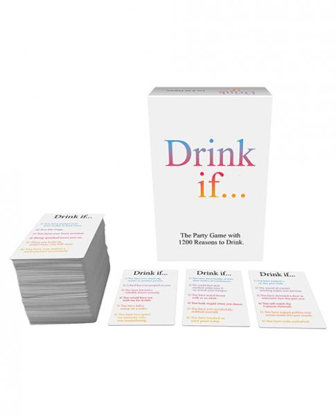 Drink If Card Game