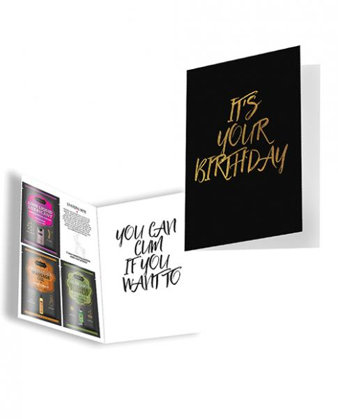 Kama Sutra Naughty Notes Greeting Cards - It's Your Birthday