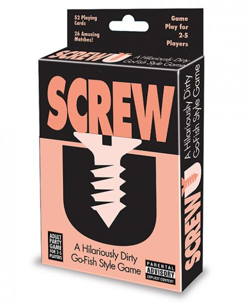 Screw U Go Fish Style Card Game