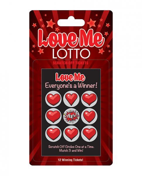 Love Me Lotto 12 Winning Tickets