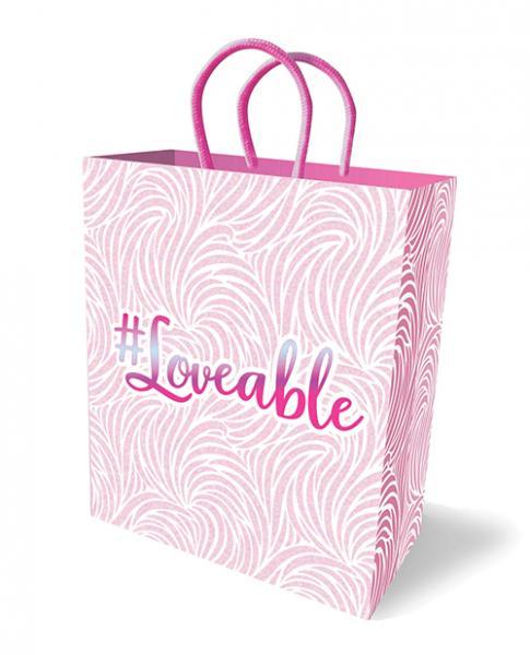 Hash Tag Loveable Gift Bag