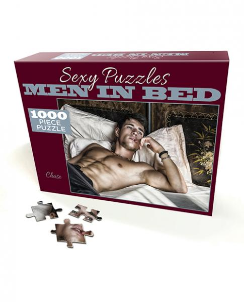 Sexy Puzzle Men In Bed 3 - Chase