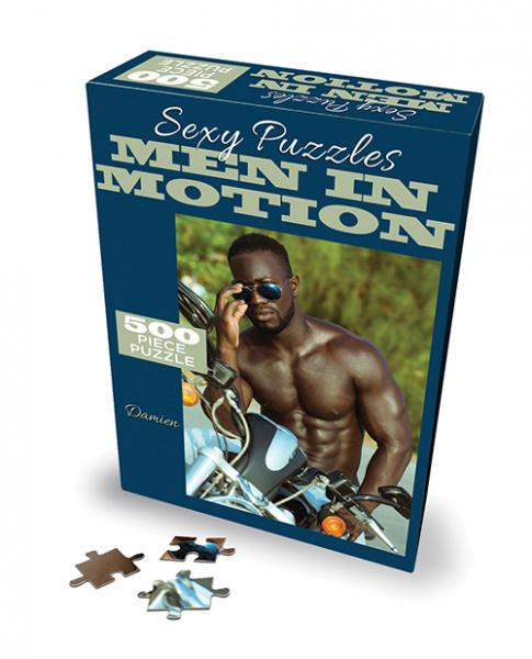 Sexy 500 Pc Puzzles Men In Motion - Damien