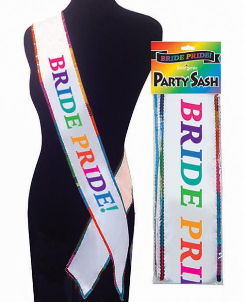 Bride Pride Sash