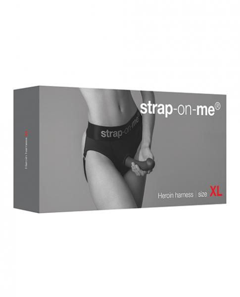 Strap On Me Heroine Harness - Black Xl