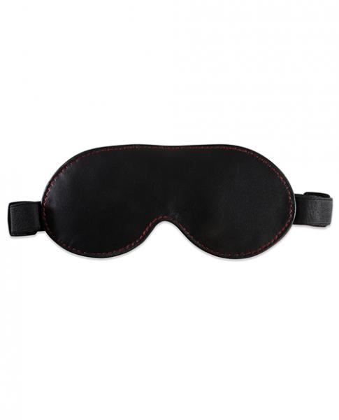 Sultra Lambskin Blindfold Black O/S