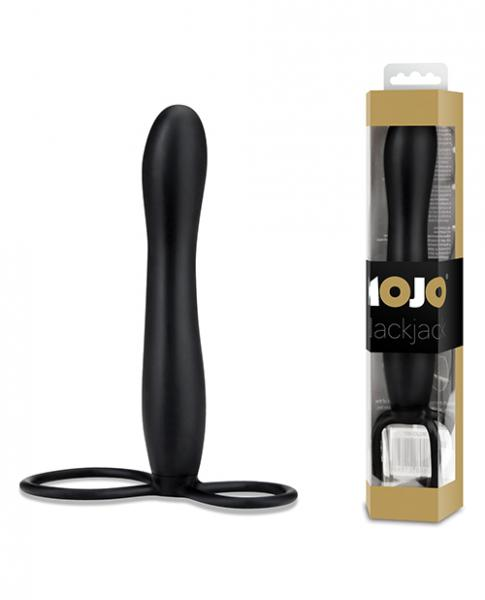 Mojo Blackjack Silicone Strap On Black