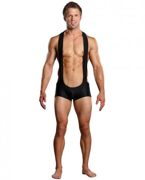 Male Power Sling Short Black L/XL