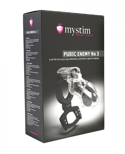 Mystim Pubic Enemy No. 3 Cock Cage