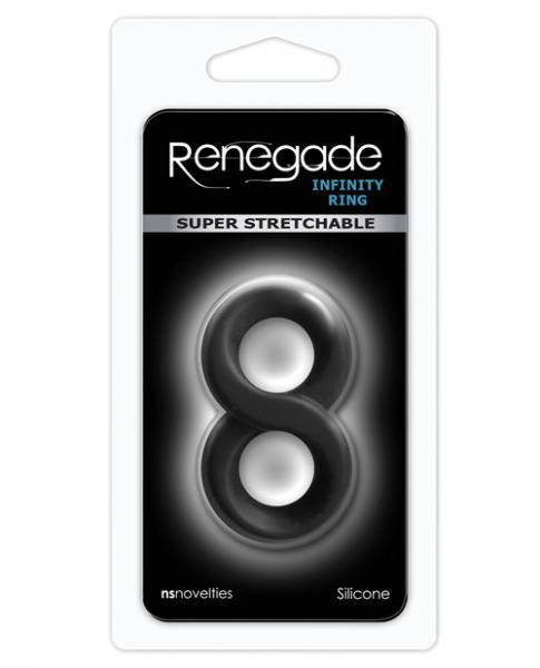 Renegade Infinity Ring - Black