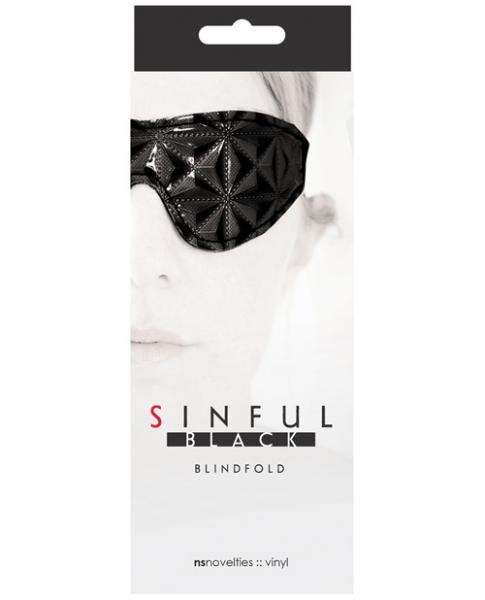 Sinful Black Blindfold