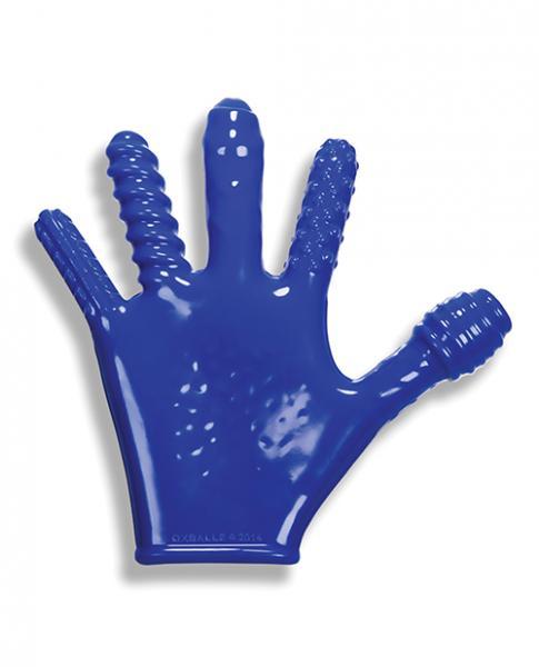 Oxballs Finger Fuck Glove - Police Blue
