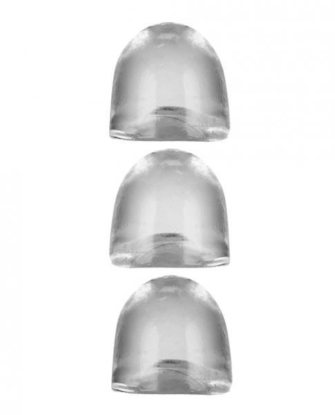 Oxballs Cocksheath Adjustfit Inserts - Pack Of 3 Clear
