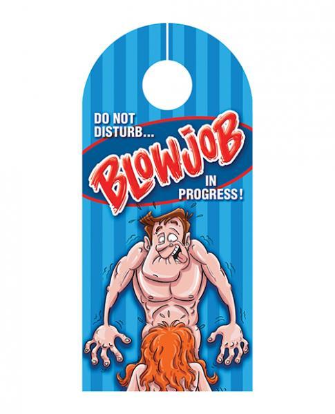Blowjob Door Hanger