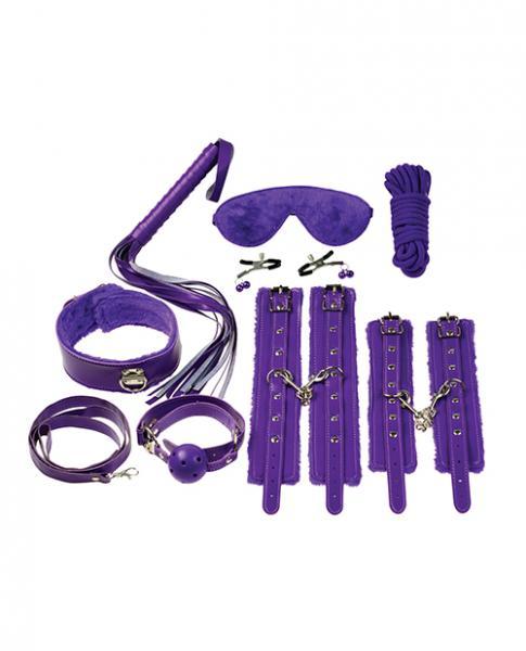 Everything Bondage 12 Piece Kit - Purple