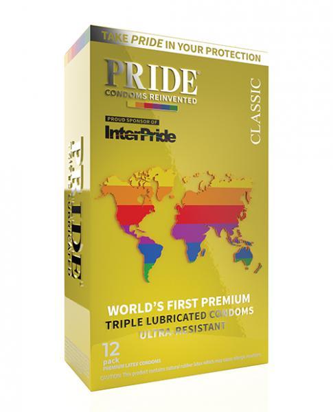 Pride Classic Latex Condoms Pack Of 12