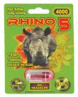 Rhino 5 4000 - 1 Capsule Blister Package Sex Toy Product