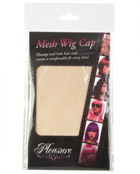 Mesh Wig Cap Nude