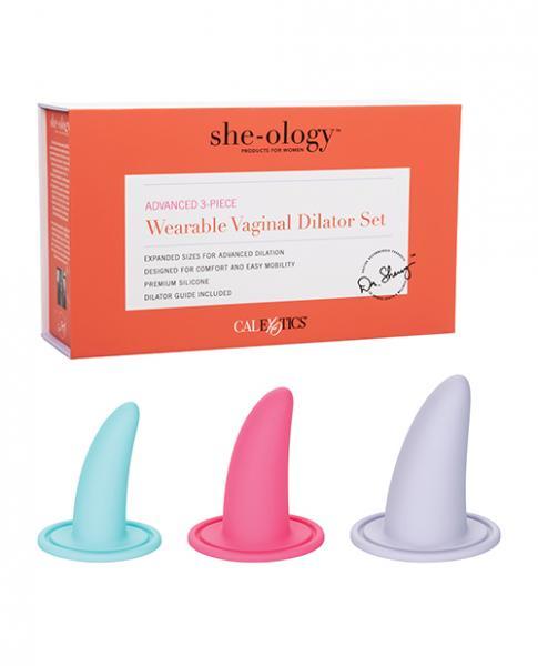 She-ology Advanced Wearable Vaginal Dilator - 3 Piece Set