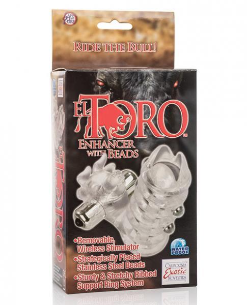 El Toro Enhancer W/beads - Clear