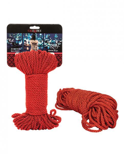 Scandal Bdsm Rope 30m - Red
