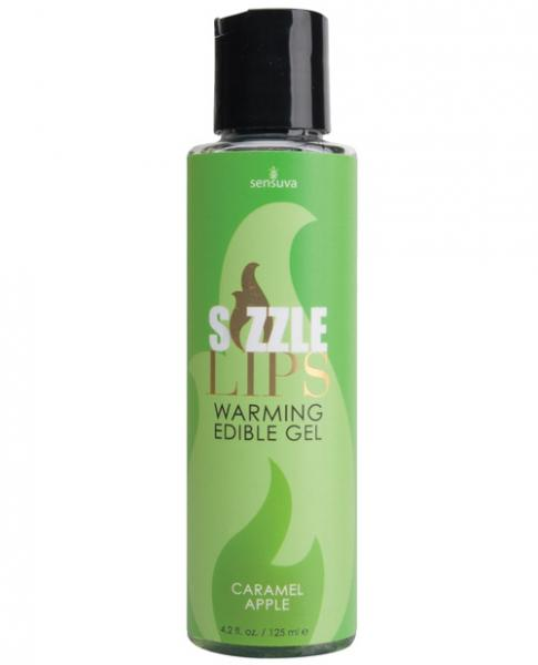 Sizzle Lips Warming Gel Caramel Apple 4.2oz