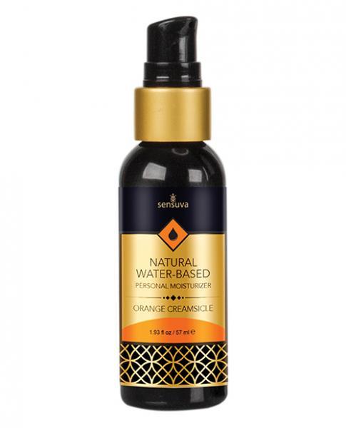 Sensuva Water Based Moisturizer Orange Creamsicle 1.93oz